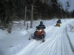 Photo courtesy of the Cranberry Lake Mountaineers Snowmobile Club